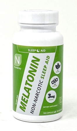 Nutrakey Melatonin 3 Mg - 100 Capsules