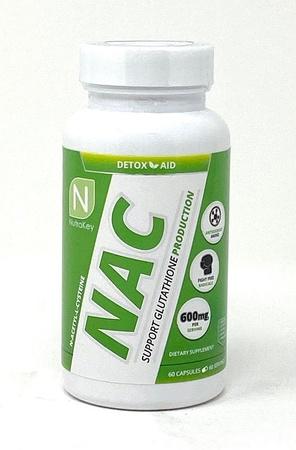 Nutrakey NAC N-Acetyl-L-Cysteine  600 Mg - 60 Capsules