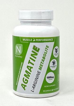 Nutrakey Agmatine 500 Mg - 90 Capsules