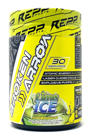 Repp Sports Broken Arrow Lime Ice - 30 Servings