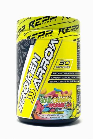 REPP Sports Broken Arrow  Sour Gummy - 30 Servings