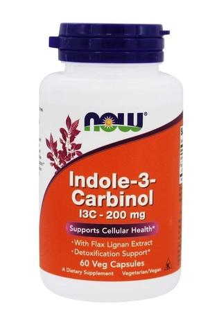 Now Foods Indole-3-Carbinol (I3C) 200 Mg - 60 Cap