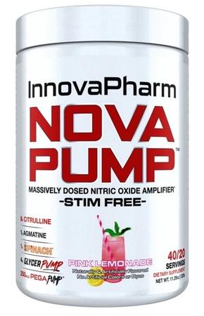 InnovaPharm NOVAPUMP Stim Free Pink Lemonade - 40 Servings