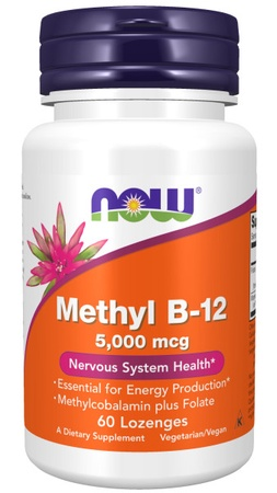 Now Foods Methyl B-12  5000 mcg. - 60 Lozenges