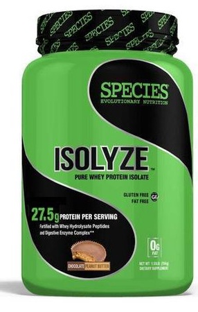 Species Nutrition Isolyze Chocolate Peanut Butter - 22 Servings