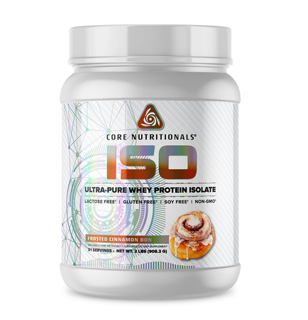 Core Nutritionals ISO Frosted Cinnamon Bun - 2 Lb