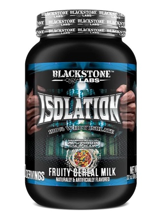 Blackstone Labs Isolation Whey Isolate Protein Fruity Cereal Milk - 2 Lb