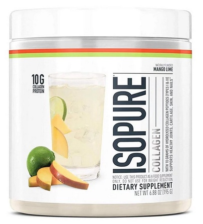 Isopure Collagen Mango Lime - 15 Servings