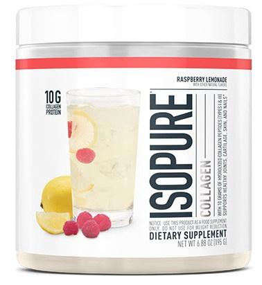 Isopure Collagen Raspberry Lemonade - 15 Servings