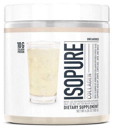 Isopure Collagen Unflavored - 15 Servings