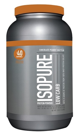 Isopure Low Carb Chocolate Peanut Butter - 3 Lb