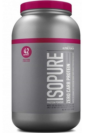 Isopure Zero Carb Alpine Punch - 3 Lb *$31.99 w/code DPS10 -2 or more $29.99ea