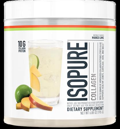 Isopure Collagen Summer Citrus Peach - 15 Servings