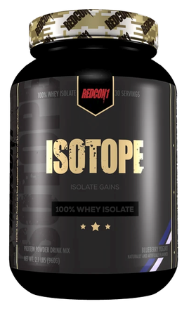 Redcon1 Isotope Whey Isolate Blueberry Yogurt - 2 Lb