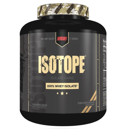 Redcon1 Isotope Whey Isolate Peanut Butter Chocolate - 5 Lb