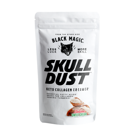 Black Magic Supply Skull Dust Keto Collagen Creamer Italian Sweet Cream - 20 Servings