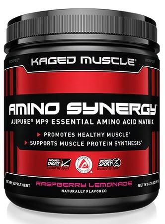 Kaged Muscle Amino Synergy w/o Caffeine  Raspberry Lemonade - 30 Servings