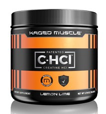 Kaged Muscle C-HCl Powder (Creatine HCL) Lemon Lime - 75 Servings