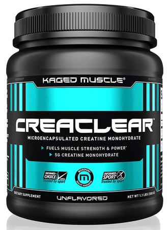 Kaged Muscle CreaClear Unflavored - 500 Grams (89 Servings)