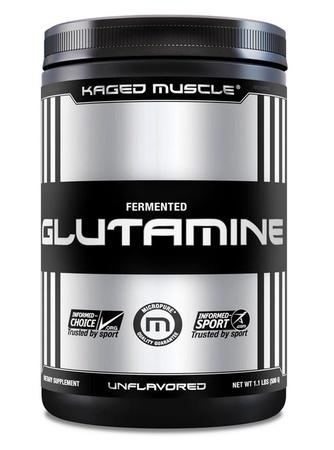 Kaged Muscle Glutamine Powder - 500 Grams (100 Servings)