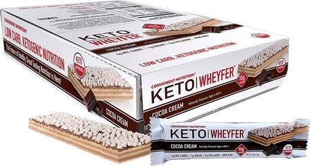Convenient Nutrition Keto Wheyfer Bars Cocoa Cream - 10 Bars
