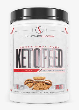Purus Labs KetoFeed Protein Oatmeal Cream Pie - 15 Servings