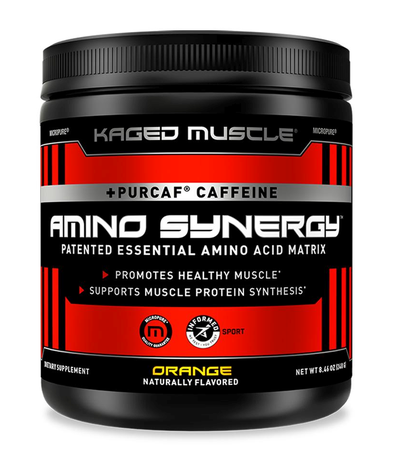 Kaged Muscle Amino Synergy with Caffeine  Orange - 30 Servings
