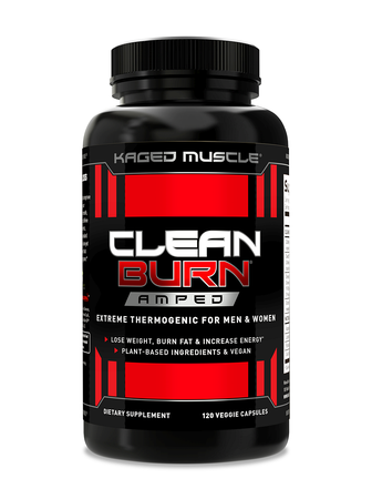 Kaged Muscle Clean Burn Amped - 120 Cap