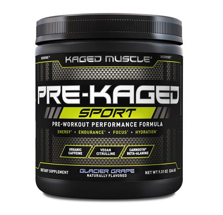 Kaged Muscle PRE-KAGED Sport  Glacier Grape - 20 Servings