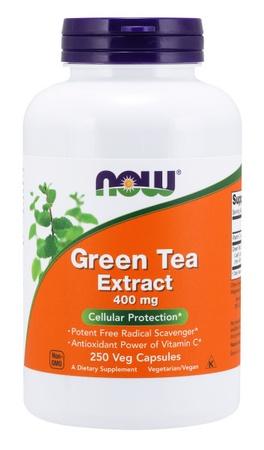 Now Foods Green Tea Extract 400 Mg - 250 Cap