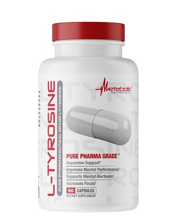 Metabolic Nutrition L-Tyrosine 500 Mg - 90 Cap