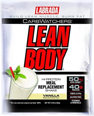 Labrada Carb Watchers Lean Body Vanilla - 42 Pack