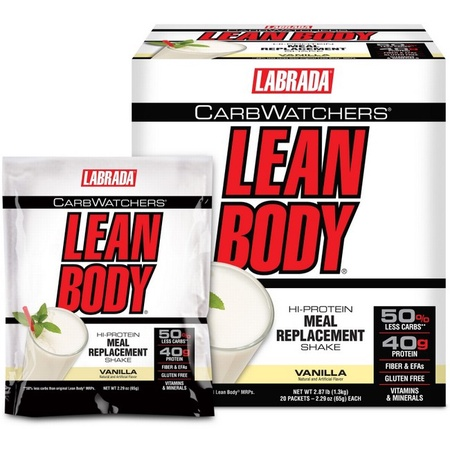 Labrada Carb Watchers Lean Body Vanilla - 20 Pack