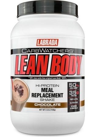 Labrada Carb Watchers Lean Body Chocolate - 2.5 Lb (19 Servings) *SALE $22.99 w/DPS10 code