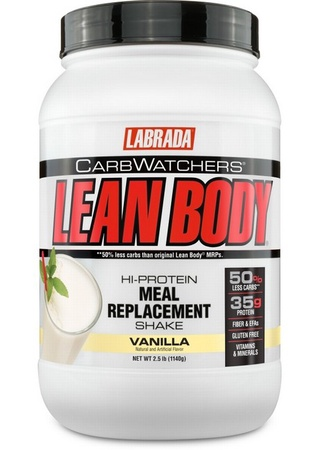 Labrada Carb Watchers Lean Body Vanilla - 2.5 Lb (19 Servings)