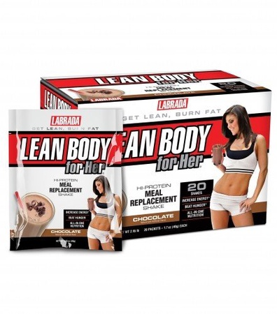 Labrada Lean Body For Her Chocolate - 20 Pack