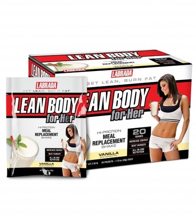 Labrada Lean Body For Her Vanilla - 20 Pack
