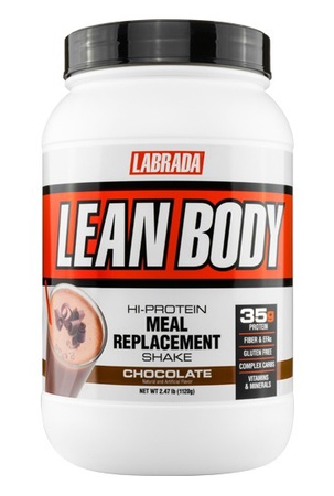 Labrada Lean Body Hi-Protein Meal Replacement Shake MRP Chocolate - 2.47 Lb