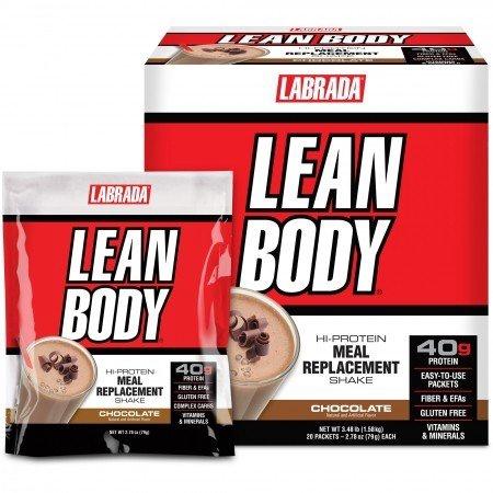 Labrada Lean Body Packs Chocolate - 20 Pack