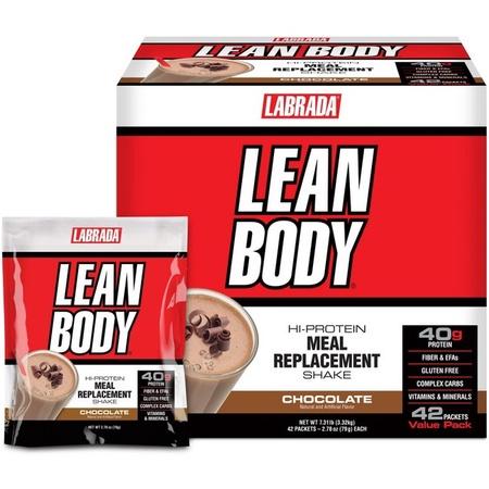 Labrada Lean Body Packs Chocolate - 42 Pack