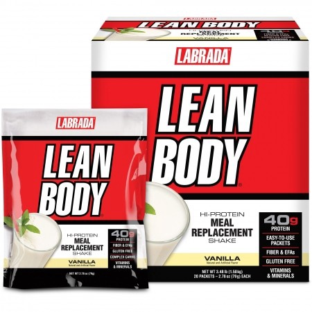 Labrada Lean Body Packs Vanilla - 20 Pack  *Expires 6/21