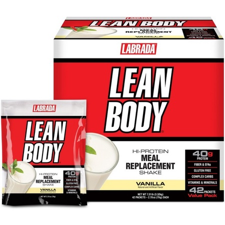 Labrada Lean Body Packs Vanilla - 42 Pack