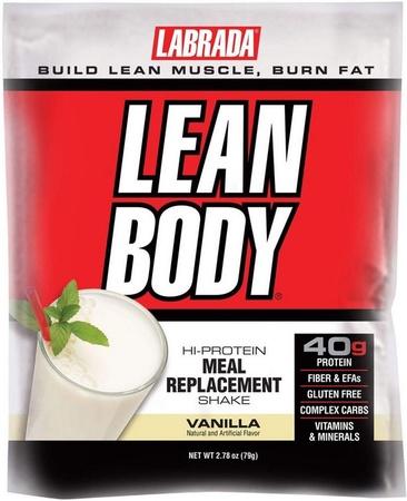 Labrada Lean Body Packs Vanilla - 80 Pack