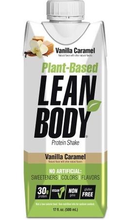 Labrada Lean Body RTD Plant Based Vanilla Caramel - 12 Pack