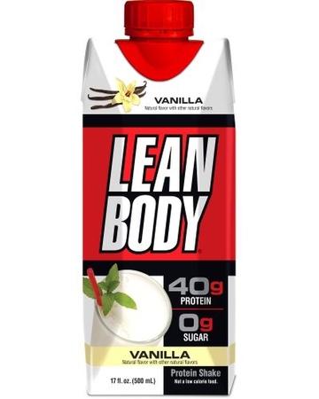 Labrada Lean Body RTD 17 Oz Vanilla - 12 Containers