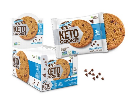 Lenny & Larry Keto Cookies Chocolate Chip - 12 Cookies