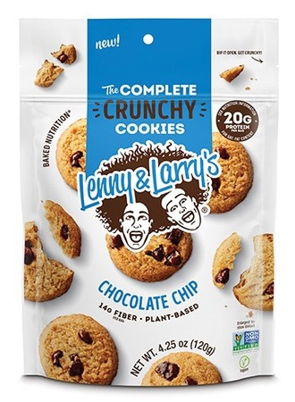Lenny & Larry's Complete Crunch Cookies Chocolate Chip - 1 x 4.25 oz Bag