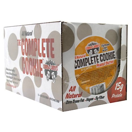 Lenny & Larry's The Complete Cookie Peanut Butter - 12 Cookies