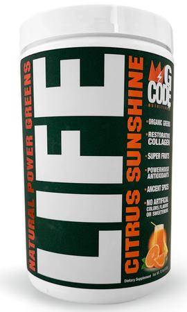 GCode Nutrition LIFE  Citrus Sunshine - 30 Servings