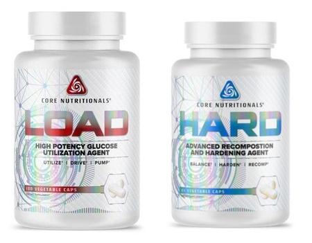 Core Nutritionals - Stack Core Hard + Core Load Stack - 2 Btls